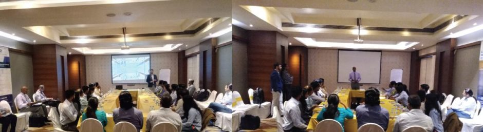 Annual sales and marketing meeting in Pune, India