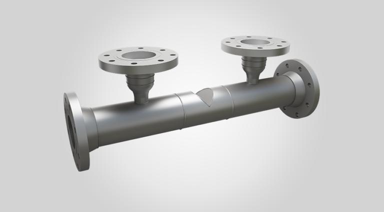 Tek-DP 1670A Wedge Flow Meter