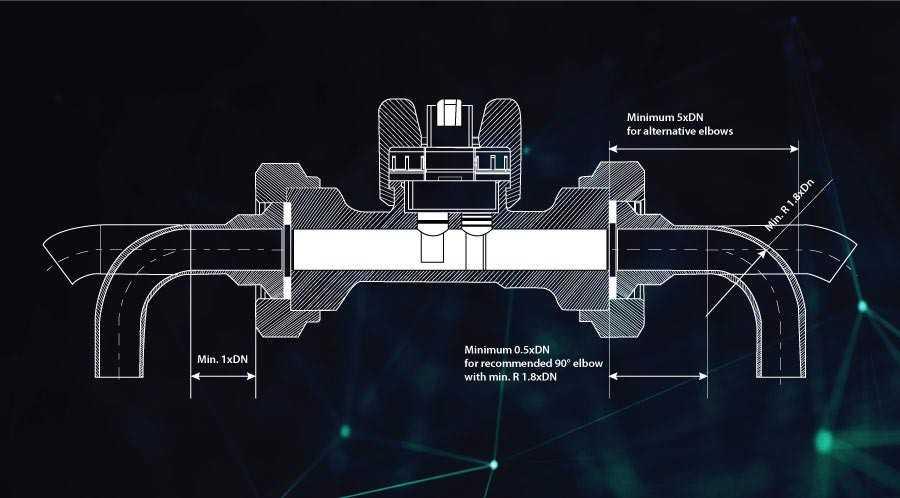 Vortex Flow Meter Construction