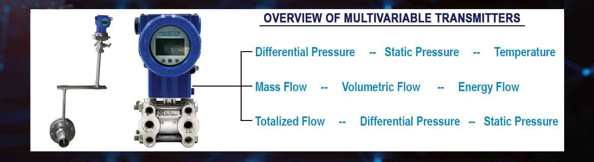 overview multivariable transmitters
