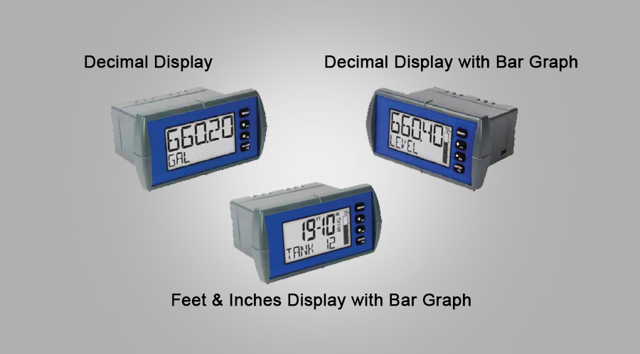 Tek-LCD 7800C Panel Mount Loop-Powered Process Indicators